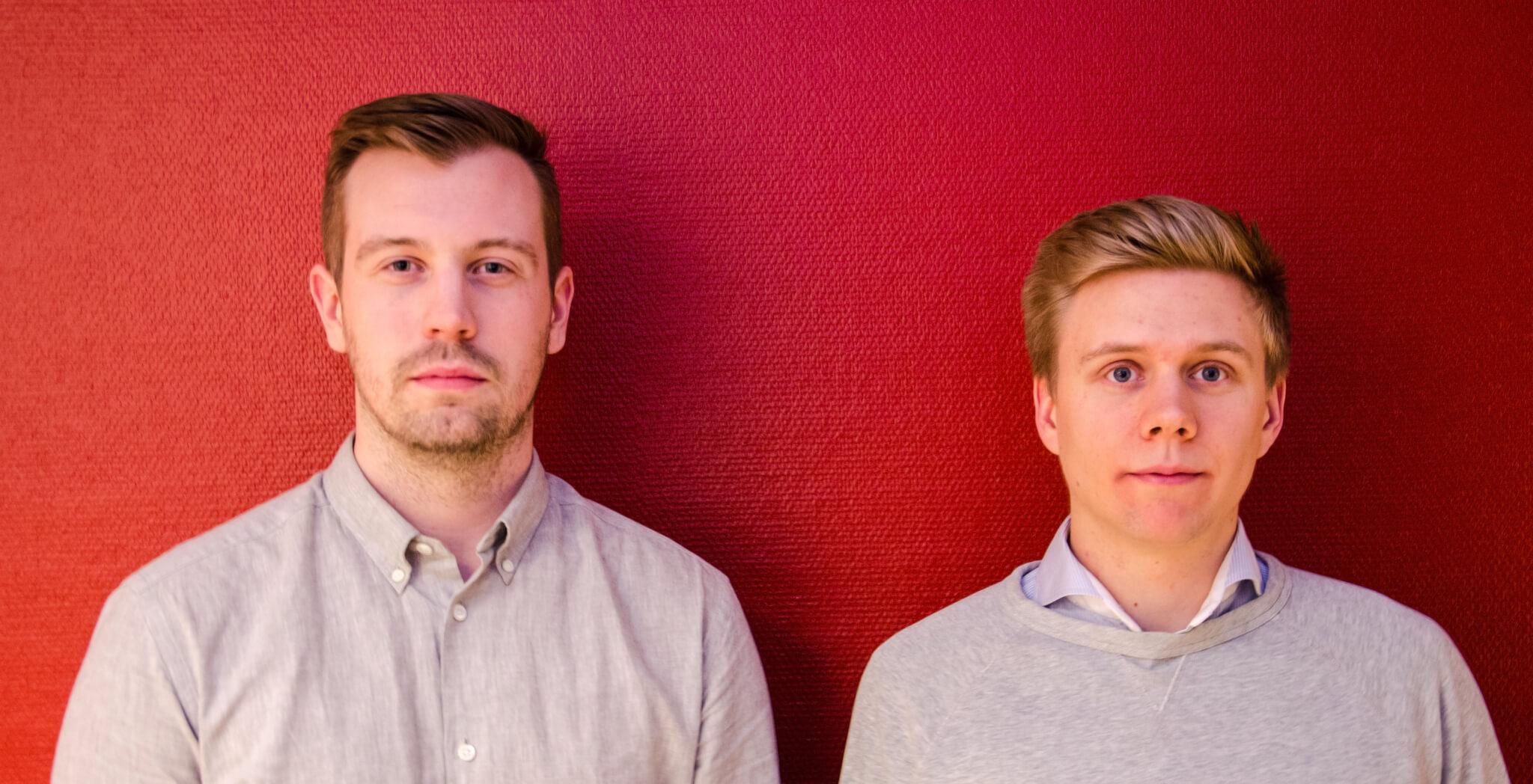 Linus Eriksson och Christoffer Smed
